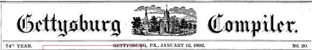 Bushman, Sadie Gettysburg headlines
