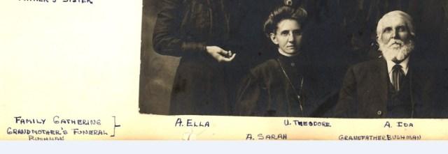 bushman, jacob family nov 1899 date