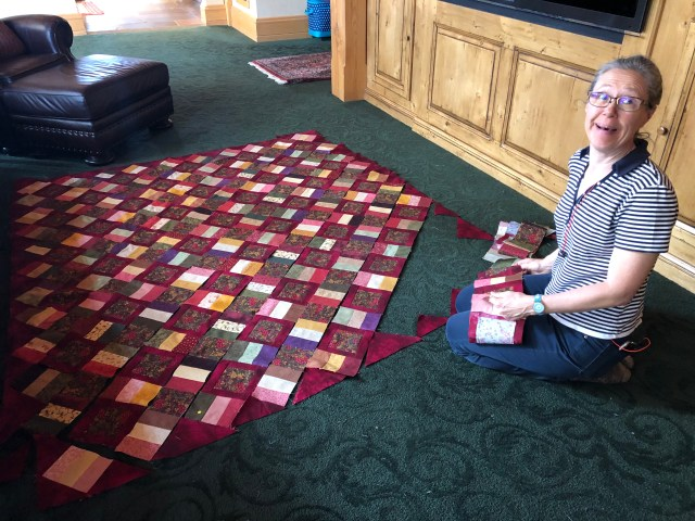 2019-4-9-12 Quilt Retreat Sundance