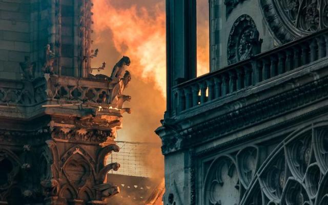 Notre Dame Fire 2