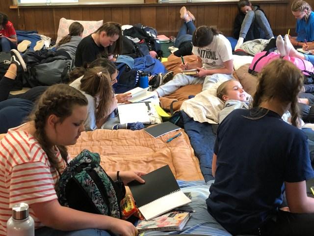 2019-6-4 Girls Camp Journal Talk (8)