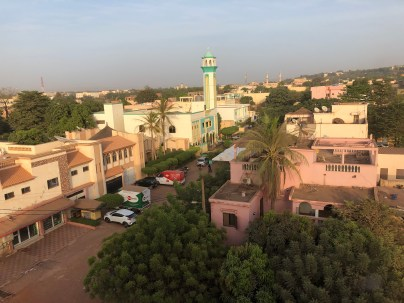Our view of Bamako!