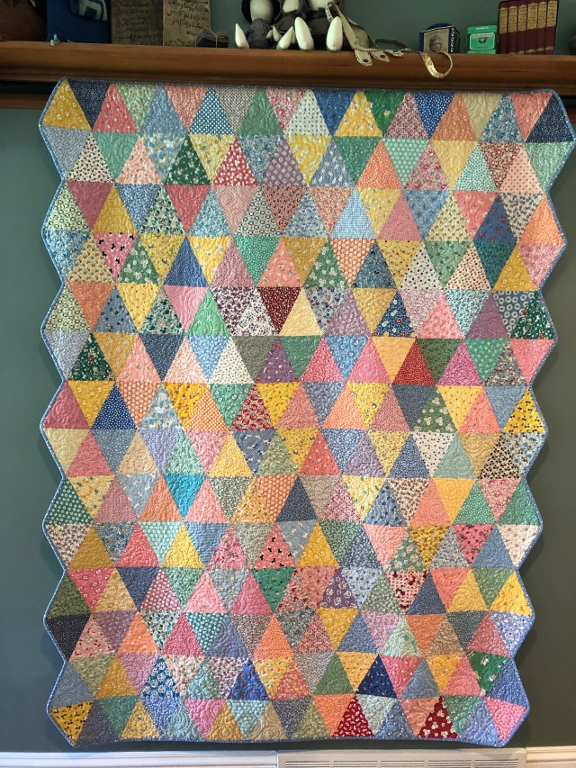 2019 Gracie's Triangles by Ann Lewis (1)