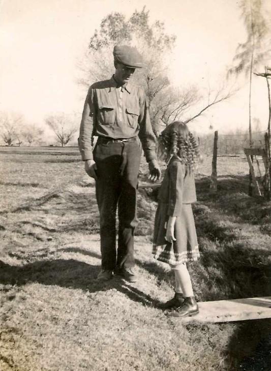 Lyman, Albert Alonzo with daughter