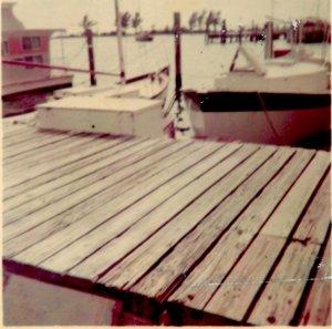 The Annie Lee docked at Dinner Key Marina