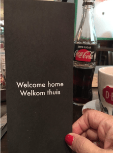 Schiphol Airport Cafe