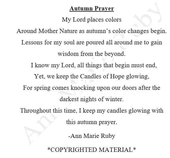 Prayers of Autumn