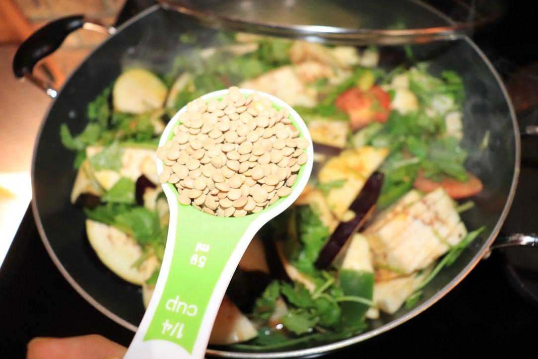 low-carb lentils