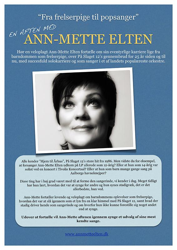 Ann-Mette Elten, foredrag