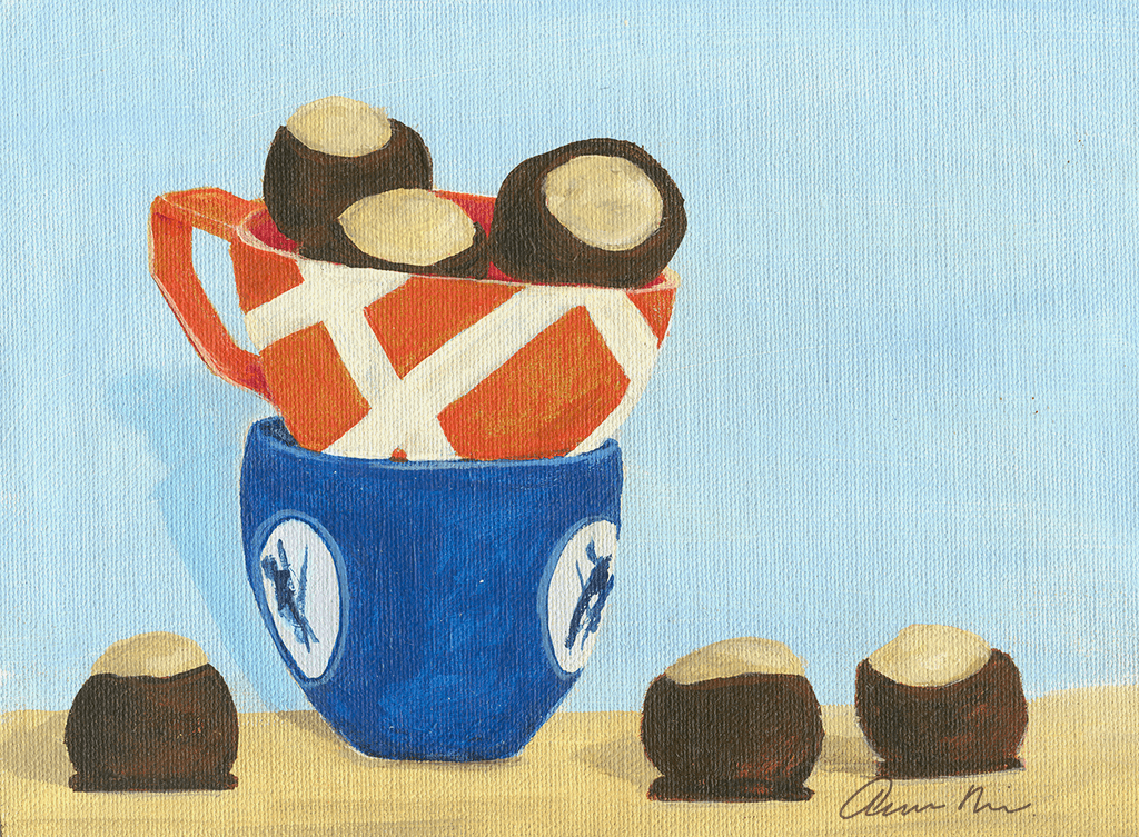 Buckeye Cookies And Tea Cups, 2011