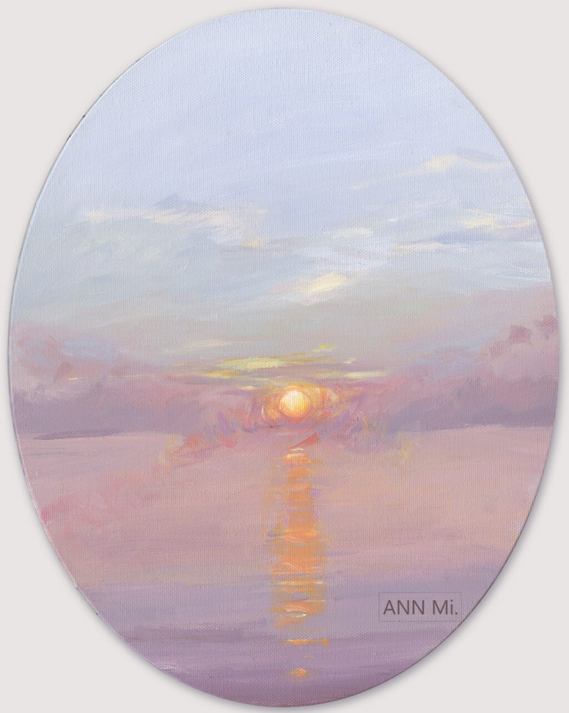 Places: Sunset at the Beach, 2014