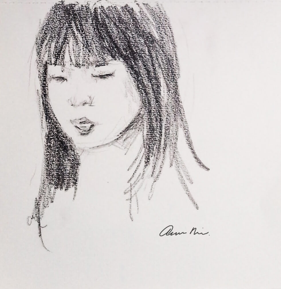 Child quick sketch, 2015