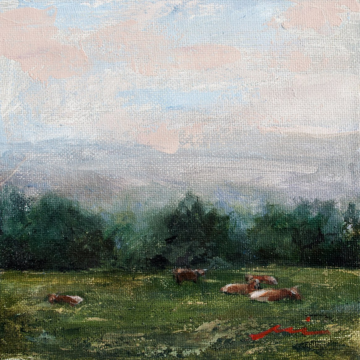 Cows in Field Study, 2018