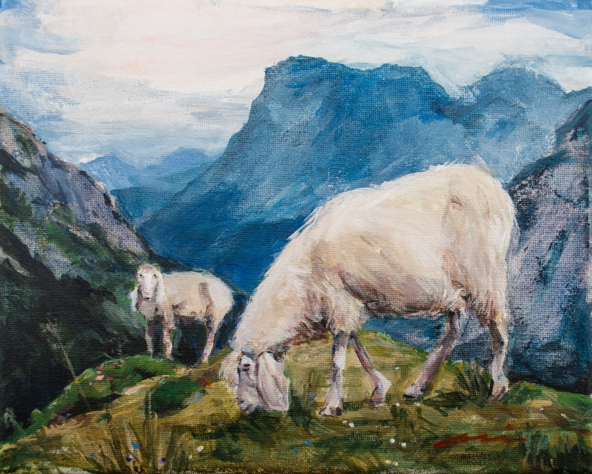 Mountain Grazing, 2018