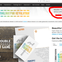 BRAGGING RIGHTS! Beautiful Trouble are quoting Ann Narkeh on their homepage! :D