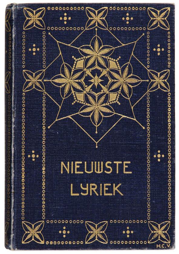 Vier krachtige art nouveau boekbandontwerpen