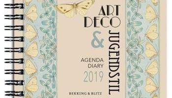 Art Deco & Jugendstil agenda 2019 uitgeverij Bekking & Blitz