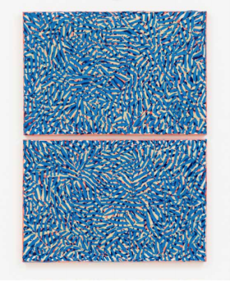 Clara Brörmann, Nordsee/Südsee, oil on canvas, 2016