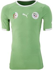 Algeria 2014 World Cup Away Kit