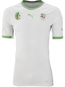 Algeria 2014 World Cup Home Kit