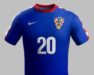 Croatia 2014 World Cup Away Kit