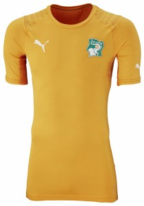 Ivory Coast 2014 World Cup Home Kit 2