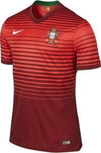 Portugal 2014 World Cup Home Kit (1)