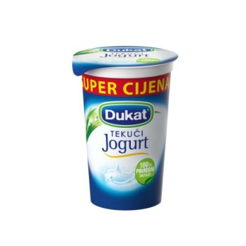 Dukat tekući jogurt 230g 2,8%mm