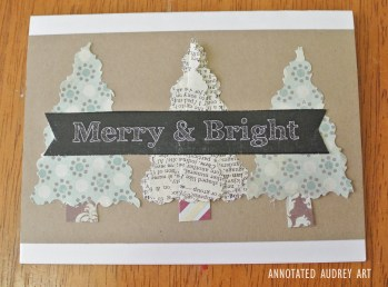 10 Annotated Audrey Christmas Cards