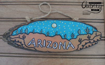 Annotated Audrey Copper Wood Sign 6
