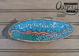 Annotated Audrey Copper Wood Sign 9