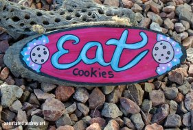 EAT COOKIES BY ANNOTATED AUDREY AKA AUDREY DLC