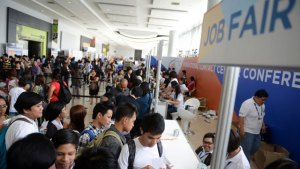 First Time Job Seekers in Job Fair Looking for a Job