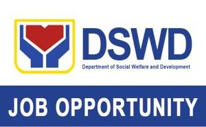 DSWD Job Vacancies