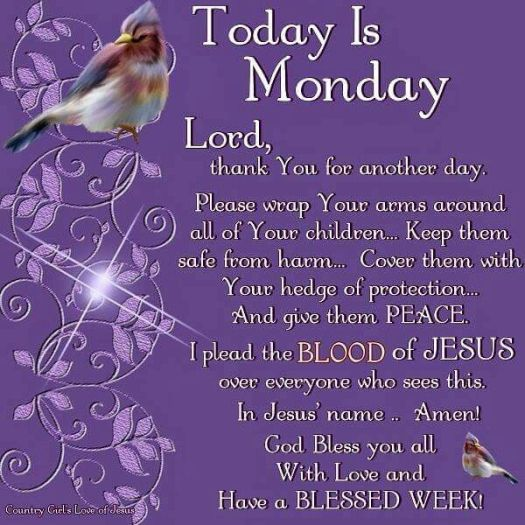 Image result for monday blessings/bible verses