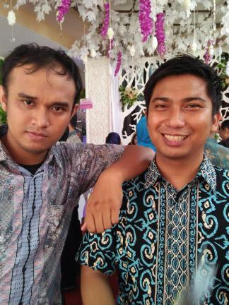 2 lelaki Ranger (yang 1 jadi pengantin)