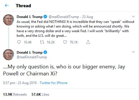Trump Fed hate