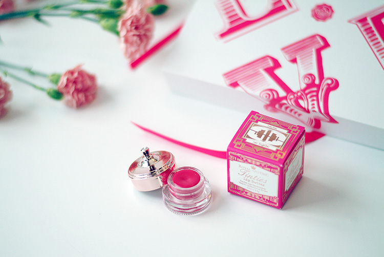Glossybox February 2015: beauty reviews by AnnRobieFashion, tinties lip butter, Riyal Apothic