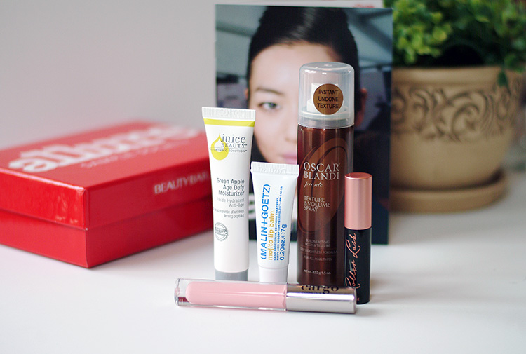 Allure Sample Society Beauty box March 2015 review by AnnRobieFashion