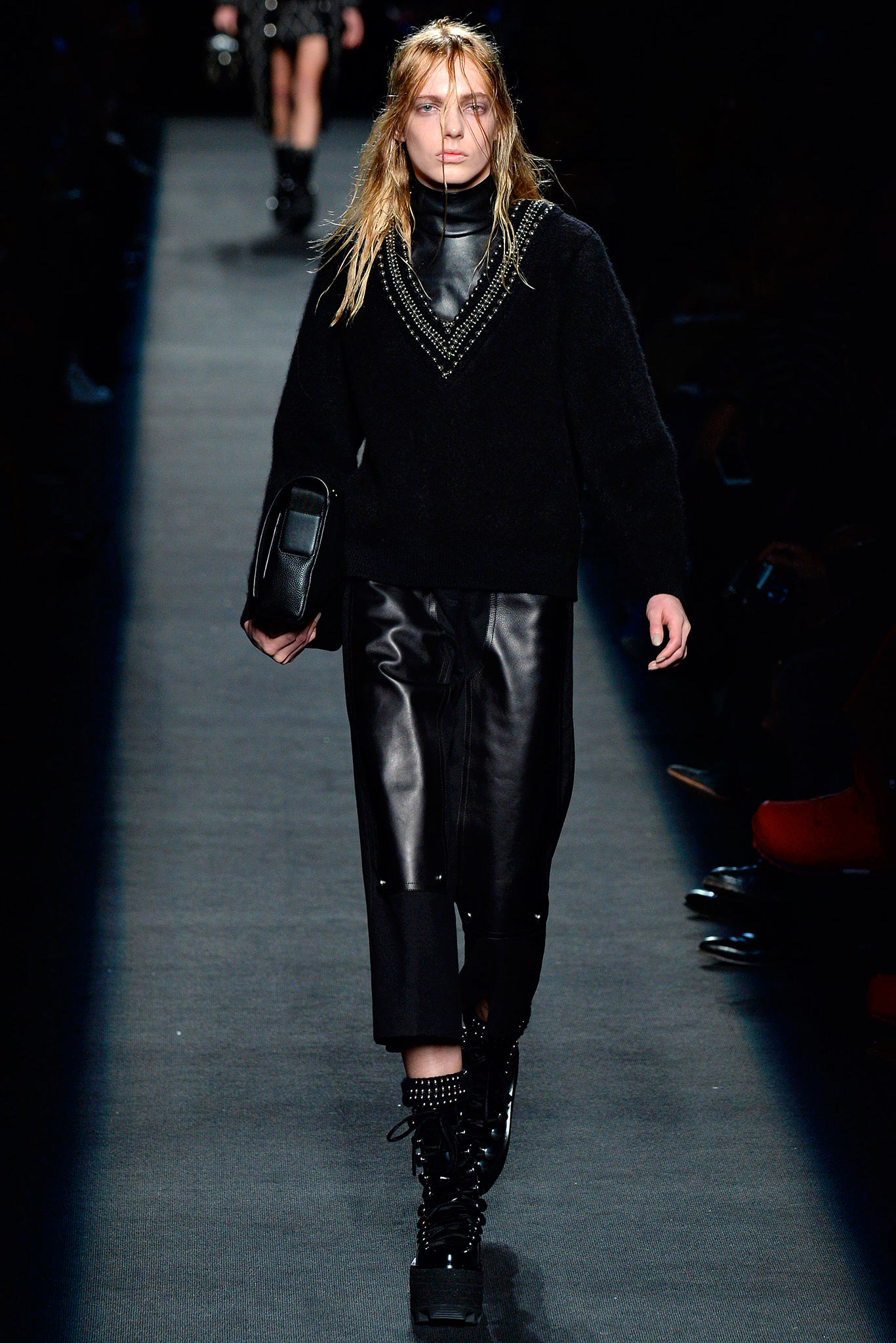 Alexander Wang RTW Fall 2015 Trends: Leather