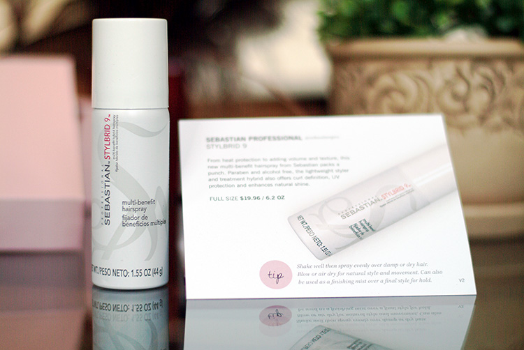 Glossybox May 2015 review by style blogger AnnRobieFashion: Stylebrid 9 hair spray by Sebastian Professional