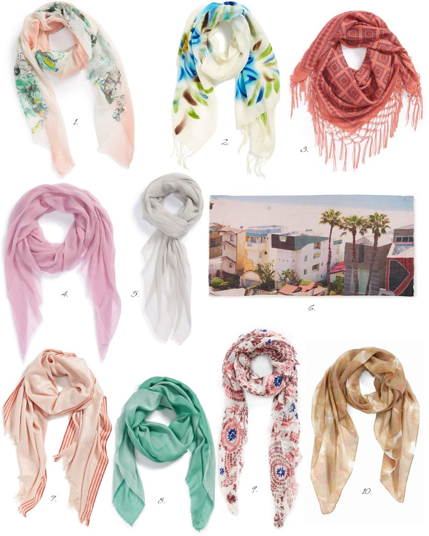 Summer Must-Haves by style blogger AnnRobieFashion; Weightless Scarves
