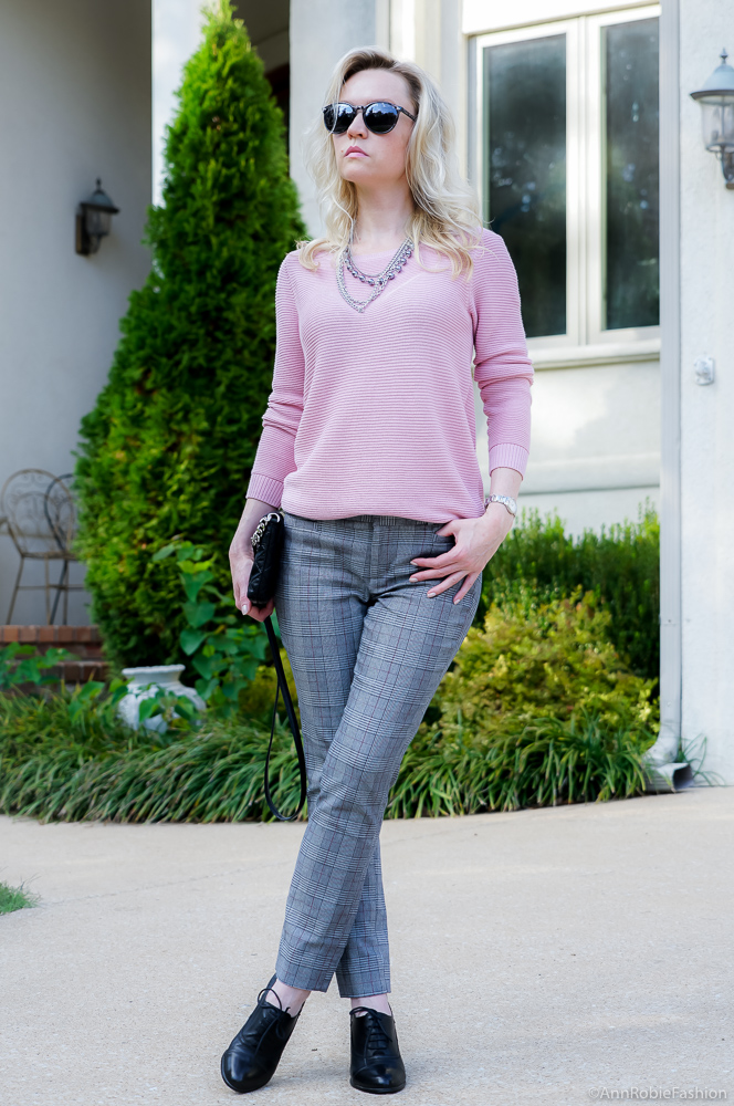 Color Trend - Sharkskin & Blush Pink by style blogger AnnRobieFashion