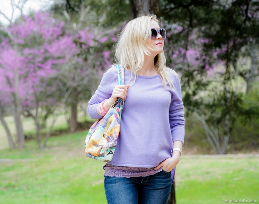 Spring color trend: Lilac & Denim