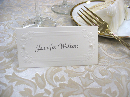 Take Your Place! Check Out These Ideas For DIY Wedding