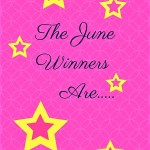 The June Winners Are…….
