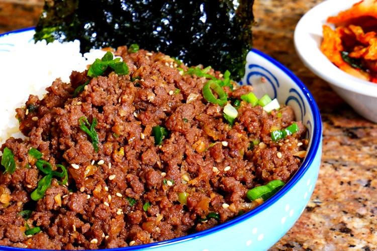How to make Ground Beef Bulgogi (Korean Grilled BBQ ...