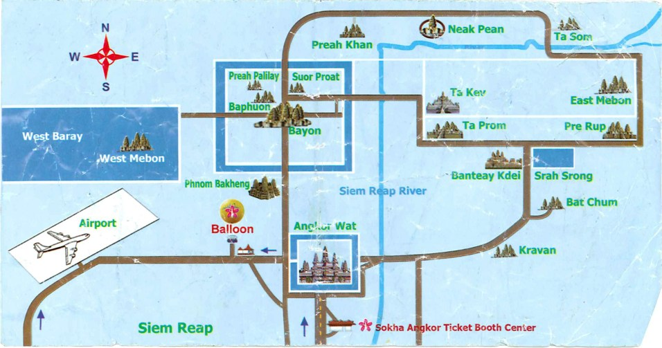 Angkor Map