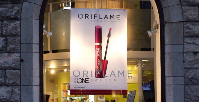 Oriflame Beauty Blogger Press Tour Concept store in Stockholm