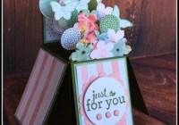 Birthday Bouquet Card in a Box  Balloon Celebration  Stampin' Up! Ann's PaperWorks Ann Lewis Stampin' Up! (Brisbane Aus)